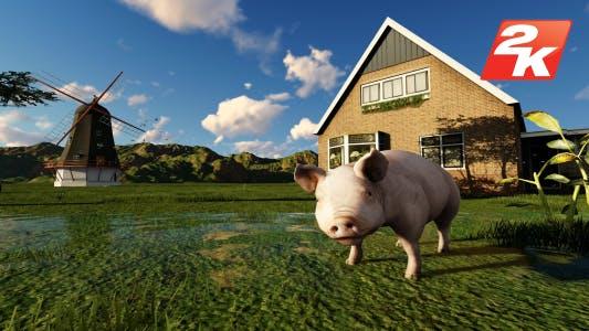 Thumbnail for Farm Villa Garden and Pig