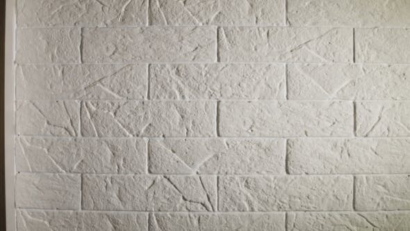 Thumbnail for White Gypsum Tiles on the Wall in the Room