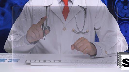 Thumbnail for Medical Futuristic Monitor