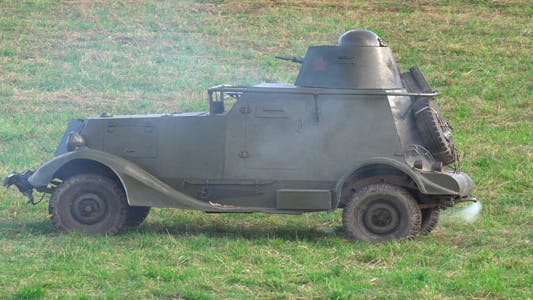 War. Armored Car