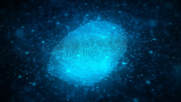 Digital Fingerprint Artificial Intelligence Network Connection