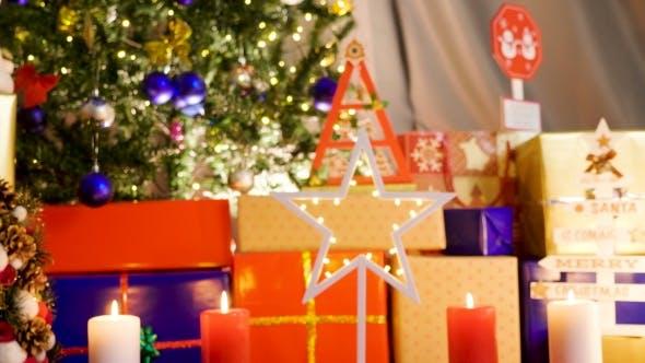 Thumbnail for Christmas Star with Lights