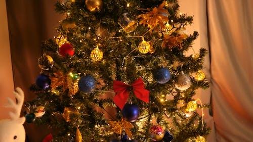 Beautifully Ornated Christmas Tree