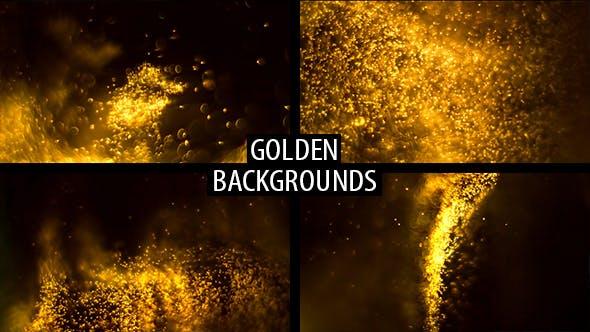 Thumbnail for Golden Backgrounds
