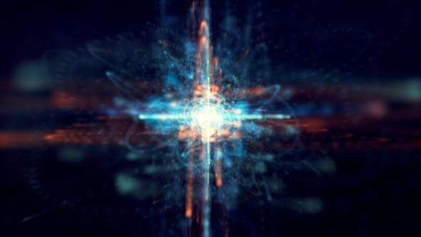 Cover Image for Digital Sci-fi Light Explosion