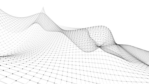 Virtuelle Drahtmodell-Simulation für Landschaftsflugmodelle