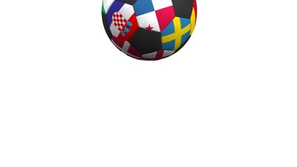 Thumbnail for Bouncing Football Ball Featuring Different National Teams Accents Flag of Panama