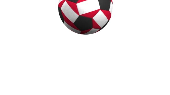 Thumbnail for Football Ball Featuring Flags of Peru