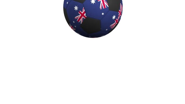 Thumbnail for Football Ball Featuring Flags of Australia