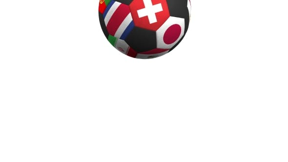 Thumbnail for Bouncing Football Ball Featuring Different National Teams Accents Flag of Switzerland
