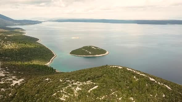 Thumbnail for Aerial view of the amazing Croatian landscape.