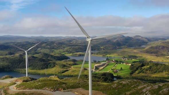 Thumbnail for Windmills for Electric Power Production Norway