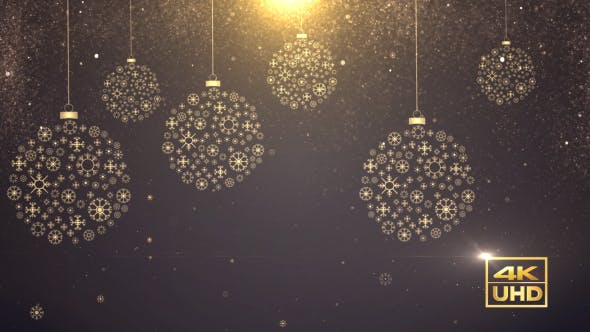 Thumbnail for Christmas Snowflake Balls
