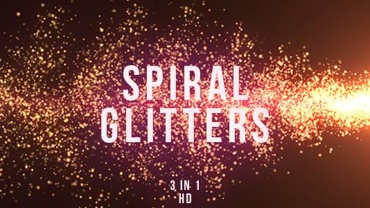 Spiral Glitters