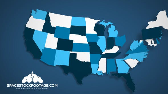 Cover Image for USA States Combine A