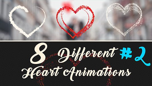 Thumbnail for Particles Heart Animations-2