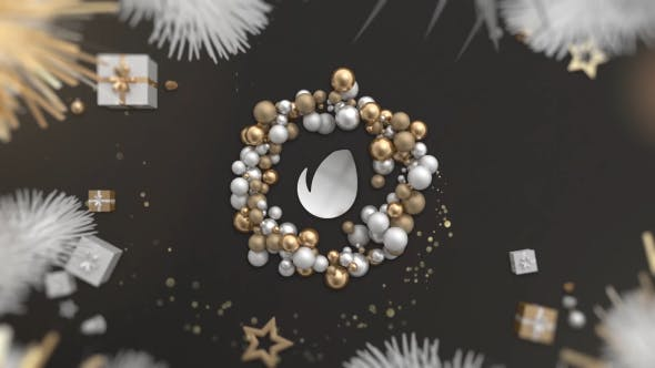 Thumbnail for Gold Christmas Logo