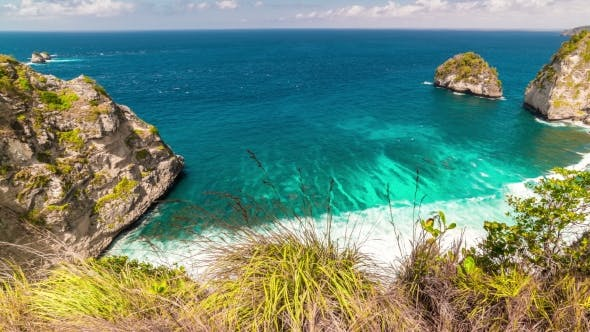 Thumbnail for View From the Rocky at Nusa Penida Island, Bali, Indonesia