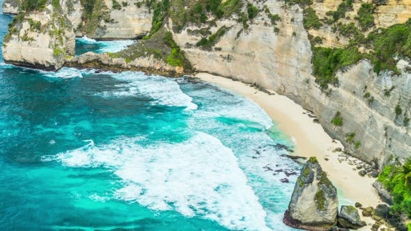 Thumbnail for Hidden Atuh Beach in Nusa Penida Island, Bali, Indonesia