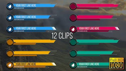 Rings Lower Thirds (Full HD)