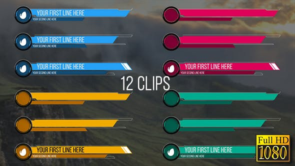 Thumbnail for Rings Lower Thirds (Full HD)