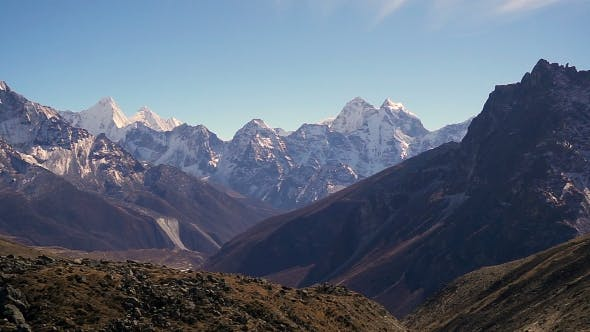 Thumbnail for Panoramic View of Ama Dablam (6,170M) and Khumbu Valley
