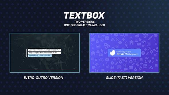 Thumbnail for Textfeld - Titelanimationen