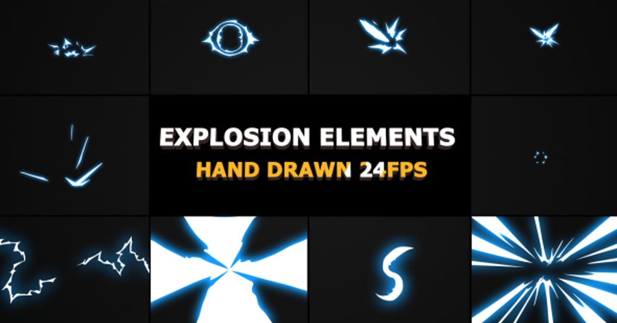 Download Flash FX Explosion Elements And Transitions by FlashFXbox