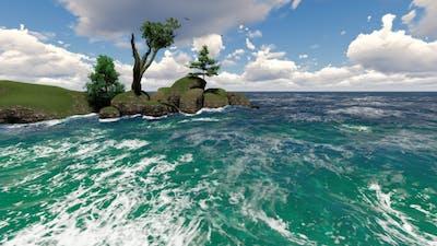 Stones in Ocean