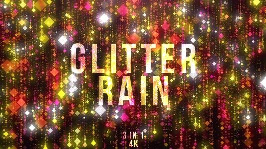 Thumbnail for Red Glitter Rain