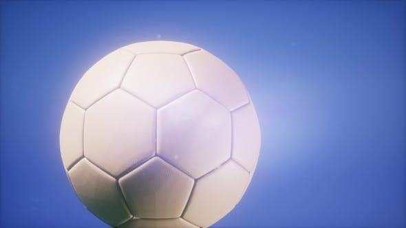 Thumbnail for Soccer Ball on Blue Sky