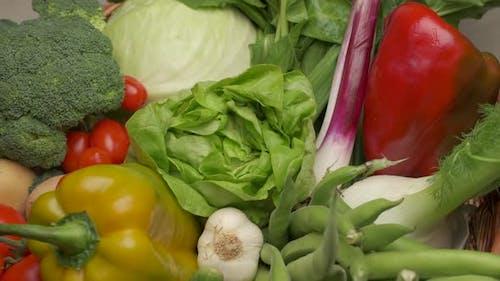 Gemüse Veganes vegetarisches Essen