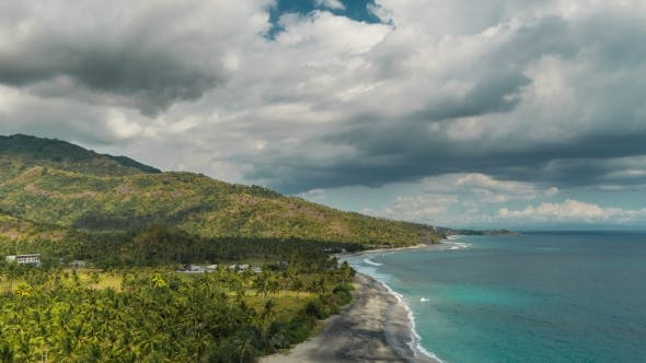 Thumbnail for Timnelapse Beautiful Tropical Beach in Lombok, Indonesia