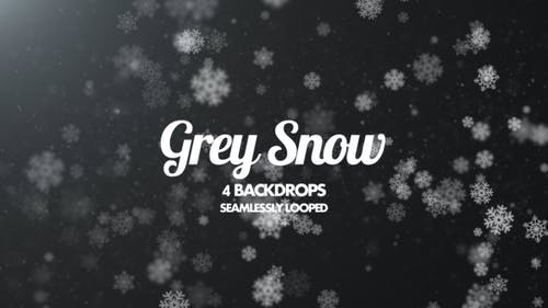 Grey Snow Pack