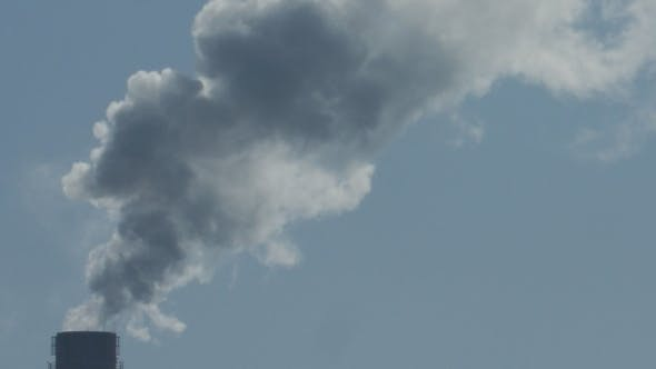 Thumbnail for Air Pollution by Smoke Coming out of the Factory Chimneys