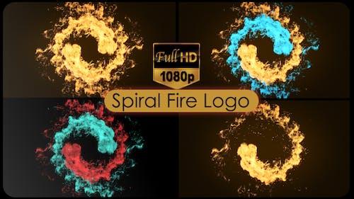 Spiral Fire Logo