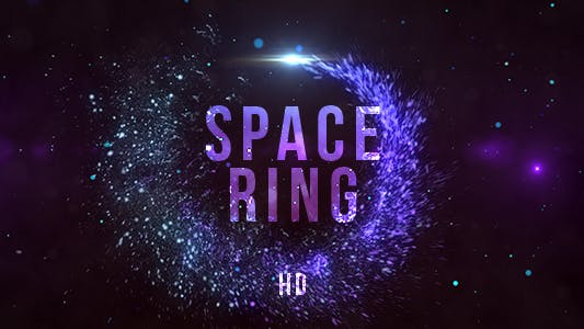 Cover Image for Blue Particles Ring