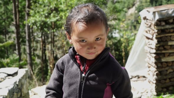 Thumbnail for Himalayan Children in the Mountain Village