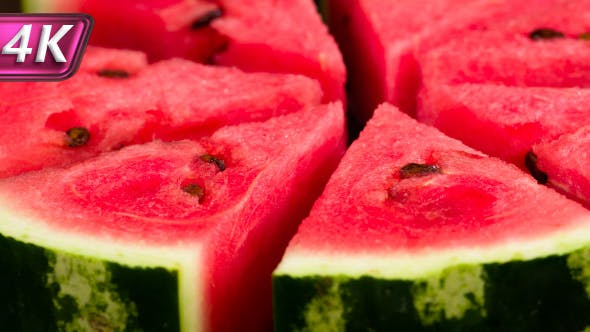 Thumbnail for Slices Of Ripe Watermelon On A Plate