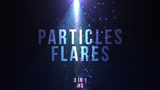 Thumbnail for Blue Particles Flares