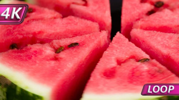 Cover Image for Plate With Slices Of Watermelon