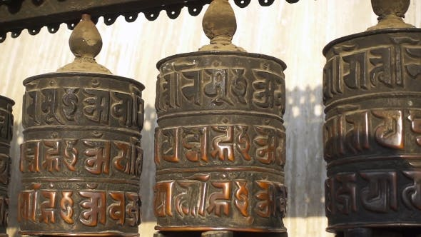 Thumbnail for Buddhist Prayer Wheels