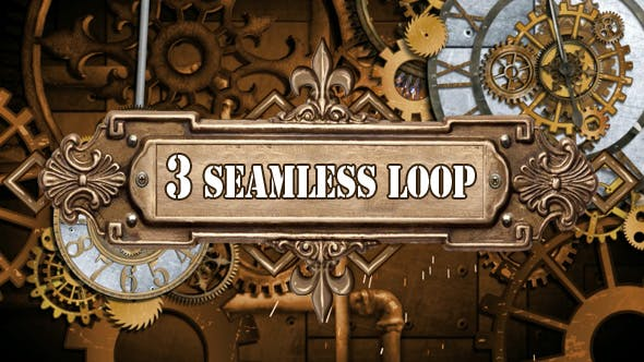 Cover Image for Steampunk Clock Gears