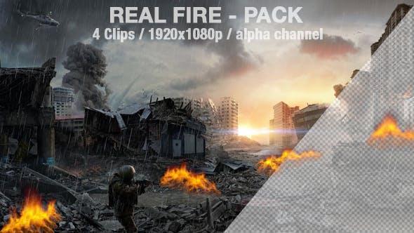 Fire - Real Fire Effect