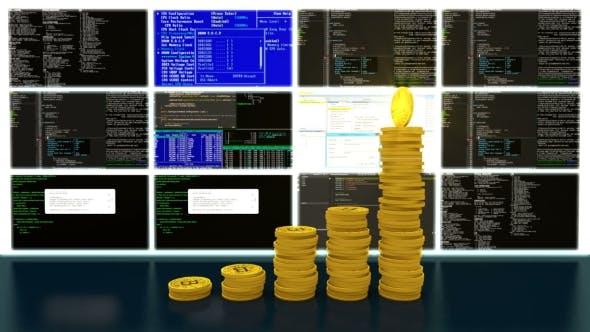 Process of Mining Bitcoins Cryptocurrencies