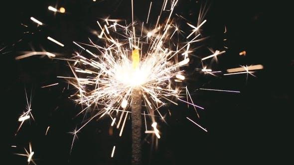 Thumbnail for Lightening Christmas Sparkler.