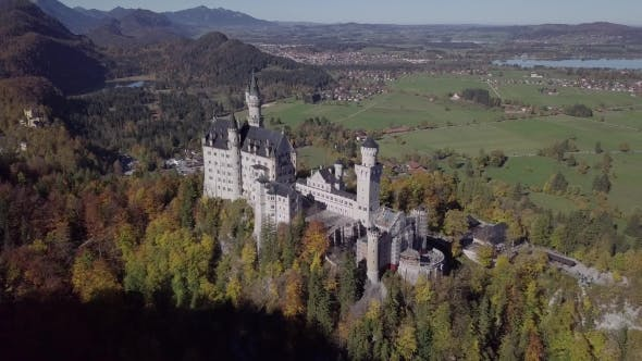 Thumbnail for Flight To Neuschwanstein Castle, Germany.