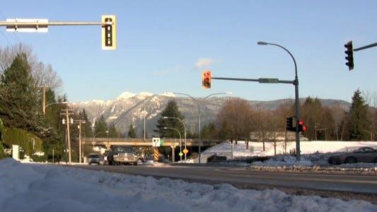 Thumbnail for Mountain Crossroad Traffic