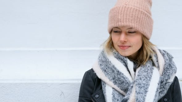 Thumbnail for Winter Blond in Pink Hat