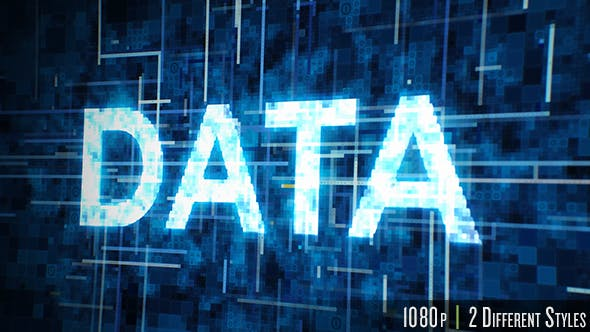 Thumbnail for Futuristic Data Typography